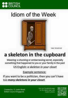 I love idioms and I didn't know about this one!!