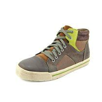 Clarks Beven Youth Boys Leather Sneakers Shoes