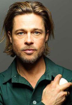 Brad Pitt Cover Shoot Outtakes - Photos - SI.com