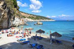 Xygia beach Zakynthos island Ionian sea