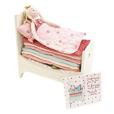 Maileg Princess And The Pea - The Chic Country Home - The Nursery Little Doll, Little Girls, Sweet Girls, Pink Olive, Princess And The Pea, Toy Boxes, The Chic, Wooden Toys, Bedding Sets