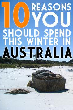 Because, let's be honest: it's just too damn cold in the Northern Hemisphere. Winter In Australia, Australia Country, Australia Travel, The Beautiful Country, What To Pack, Holiday Travel, Vacation Spots, Sydney, Saving Money