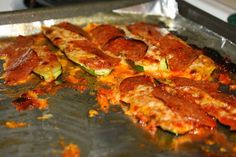 Zucchini Pizza (Who Needs Crust When You Can Use Zucchini!)