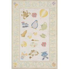Found it at Wayfair - Classic Pale Yellow Area Rug