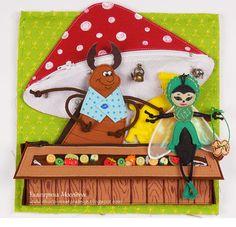 Felt Patterns, Nursery Rhymes, Felt Crafts, Handmade Art, True Love, Fairy Tales, Thats Not My, Quiet Books, Christmas Ornaments