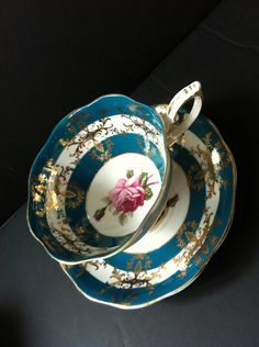 Vintage Bone China Royal Standard Cup and Saucer