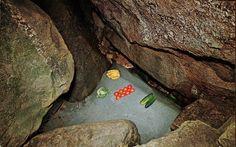 Nature's Refrigerator, Polar Caves, New Hampshire