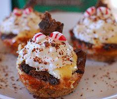 Brownie Brittle™ Peppermint Cheesecake Cups