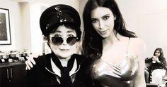 Yoko Ono und Kim Kardashian sind keine gute Kombi #News #Stars