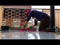 Windschutz mit Acrylglas selber bauenTueftler-und-Heimwerker.de Blinds, Stabil, Post, Material, Home Decor, Youtube, Diy Deck, Framing Construction, Hang Pictures