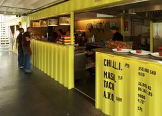 Shipping Container - Wahaca Southbank / Softroom, London