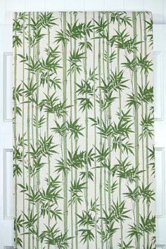 Retro Wallpaper 1960s Vintage Wallpaper Green by RetroWallpaper