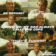 Vin Diesel Stills - This deleted scene should. Fast And Furious Memes, Fast And Furious Cast, The Furious, Paul Walker Movies, Rip Paul Walker, Movie Memes, Movie Tv, Funny Memes, Michelle Rodriguez