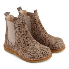 Chelsea boot , Beige/dot 2434/010