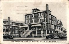 Wellington Hotel: History on 9th Street and Baltimore Avenue -- Ocean City, MD