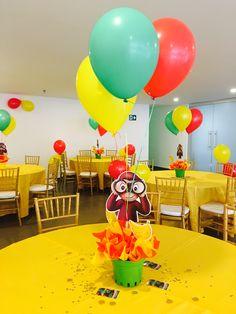 1st Birthday Party Themes, Spa Birthday, Baby Boy 1st Birthday, Birthday Ideas, Curious George Party, Curious George Birthday, Harry Birthday, Baby Shower, 1st Birthdays