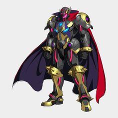 "Ultron Sigma, Macardan ""God"" of Fate (Wielder of the Space and Reality Stone) Marvel Dc, Doctor Light, Mysterio Marvel, Megaman Series, Alien Creatures, Futuristic Art, Superhero Design, Dc Comics, Anime Oc"
