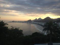 Vista do Forte do Leme para Copacabana