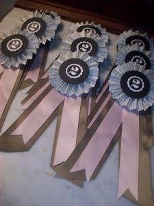 DIY Equestrian Ribbon Invitation (Derby Party)