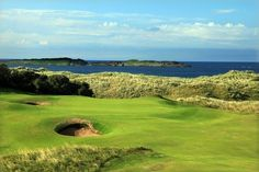 Royal Portrush Golf Course - Northern Ireland ... Shop for the best in Golf Push Carts and More at http://bestgolfpushcarts.net/product-category/golf-push-carts/clicgear/