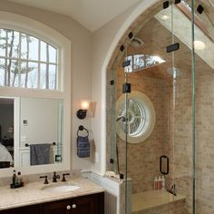 Small window in bathroom: Traditional Home Small Square Bathroom Windows Design, Pictures, Remodel, Decor and Ideas - page 9