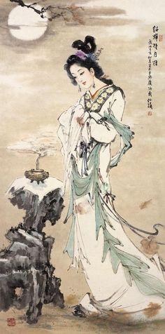 Four Beauties - Diaochan- 169 AD