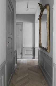 Danijel Pavlic Es ist Pavlic - New Ideas Hallway Colours, House Design, Home, Home Remodeling, New Homes, Doors Interior, House Interior, Apartment Decor, Hallway Designs