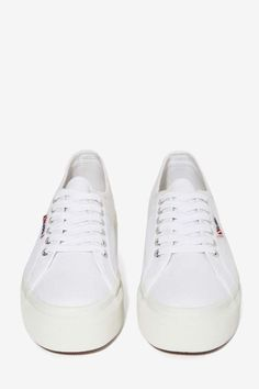 Superga Up and Down Platform Sneakers