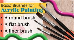 Buying the best brushes for acrylic painting is like an investment, hence one should do it wisely. There are various different types of paint brushes to choose from. Read on, to learn about important tips on choosing the best brushes for acrylic paints and how to take care of them.