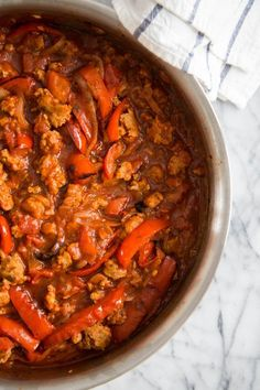 Recipe: Easy Sausage and Peppers