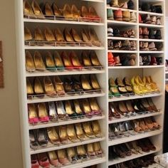 Shoe organization!...shoe organizer...shoe organizing