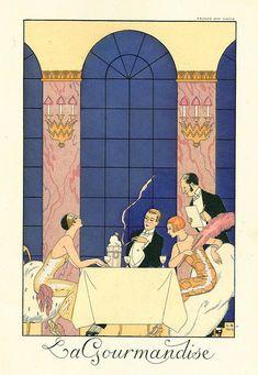Lagourmandise George Barbier 1924