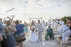 paper airplane recessional, photo by kirsten manickphotography.com