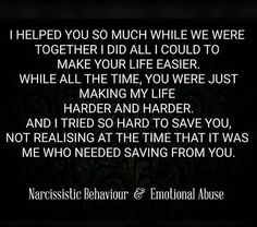 Don't know what I did to deserve the horrors of so much mental emotional abuse Narcissistic People, Narcissistic Abuse Recovery, Narcissistic Behavior, Narcissistic Sociopath, Narcissistic Personality Disorder, Narcissistic Husband, Quotes To Live By, Me Quotes, Romance Quotes