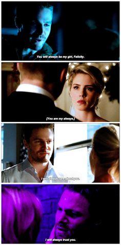 #Arrow olicity + always - #OliverQueen #FelicitySmoak