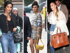 This Weeks, Celebs Were On Set and Out to Lunch with Bags from Hermès, Chanel and Gucci #wysluxury