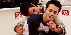 Dylan licks co star on We Heart It