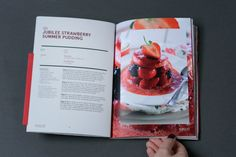 Driscoll Jubilee Strawberries Recipe Book on Behance