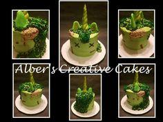 Zombie Unicorn Cake by Sarah Alber Unicorn Birthday Parties, Birthday Bash, Scary Cakes, Cookie Decorating, Decorating Ideas, Unicorn Cakes, Pastel Cakes, Kid Birthdays, Halloween Cupcakes
