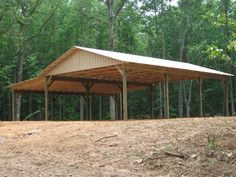 pole barn with roof for porches | Barn Roof