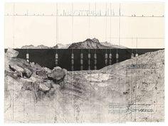 I ponti della valle [Rilievo di un acquedotto post-romano]