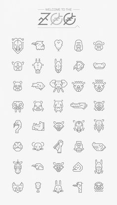 Axo Zoo by Nicolas Galkowski, via Behance