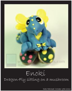 Enoki dragon-fly