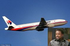 """BelieversWorld.net: Prophecy : Malaysia Flight MH370 """"Scatered Inside ..."""