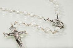 rosarios de cristal de roca - Buscar con Google
