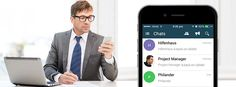 #UandMePlus application offers secure and private ‪#‎mobile‬ ‪#‎messaging‬ environment for ‪#‎companies‬