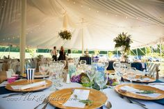 Pole tent for your wedding, corporate event or any gathering.