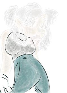 Mujer que se desvanece 4