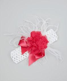 Look at this #zulilyfind! Berry Bow Headband by Baby & Me Designs #zulilyfinds