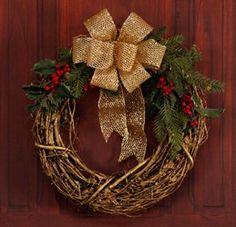 Grapevine Door Wreath
